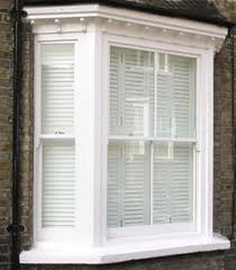 Sash Window With Blind